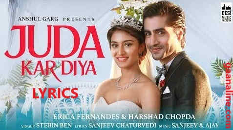 जुदा कर दिया | Juda Kar Diya Song Lyrics - Stebin Ben